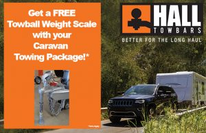 caravan towing weights