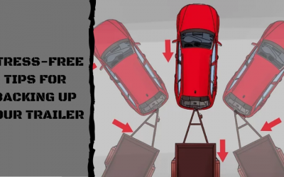 Stress-free tips for backing up your trailer