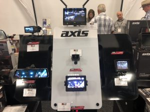 Axis reversing camera display