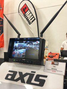 """Axis 7"""" quad view reversing camera"""