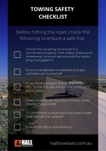 Towing safety checklist